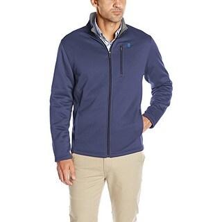 Izod Mens Spectator Solid Fleece Jacket