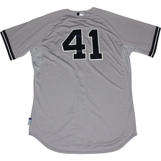 David Phelps Jersey  NY Yankees 2014 Season Game Used 41 Grey Jersey HZ208402