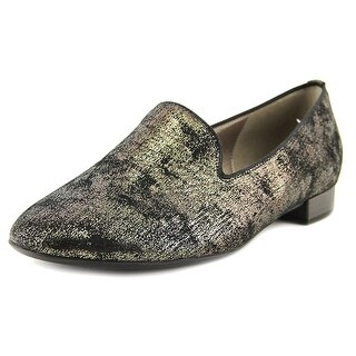 Gabor 91.190 Round Toe Leather Flats (Option: Multi)