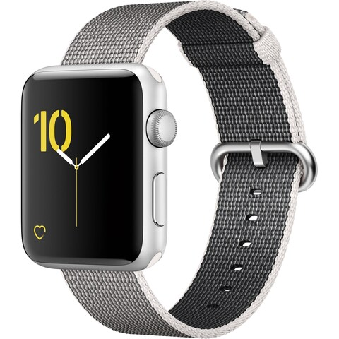 Apple Watch Series 2 42mm Smartwatch (Silver Aluminum Case) (Open Box)