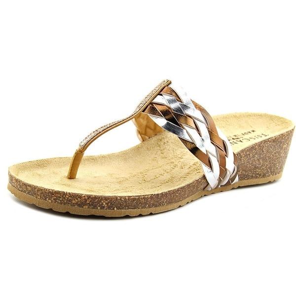 Easy Street Bene Open Toe Synthetic Thong Sandal