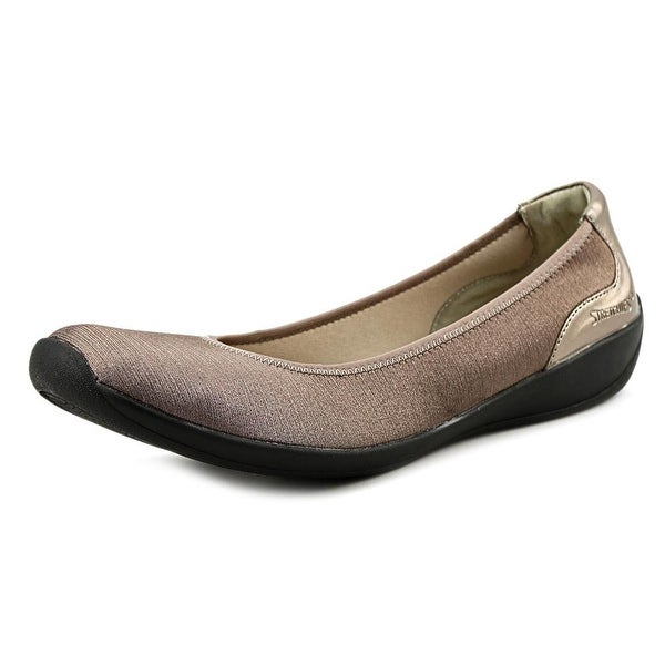Stretchies Joyce II Women W Round Toe Synthetic Bronze Loafer