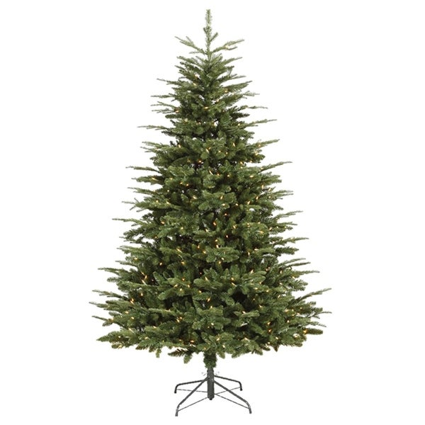 9' Pre-Lit Grantwood Pine Artificial Christmas Tree - Clear Lights