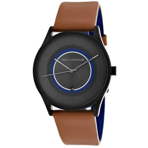 Ted Lapidus Men's Classic Grey Dial Watch - 5131904