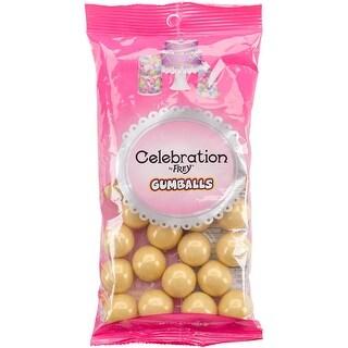 Celebrations By Sweetworks Gumballs 8Oz-Shimmer (Tm) Gold