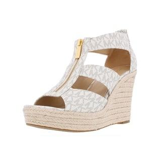 a9344cd552d Buy Medium MICHAEL Michael Kors Women s Sandals Online at Overstock ...