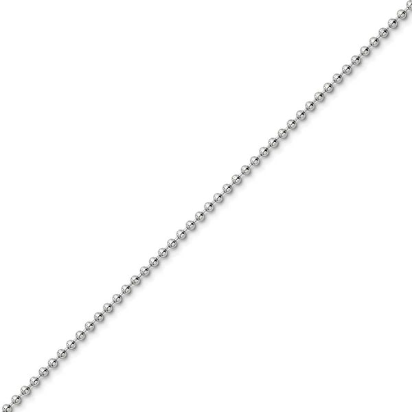 Chisel Stainless Steel 2.0mm 16in Ball Chain (2 mm) - 16 in