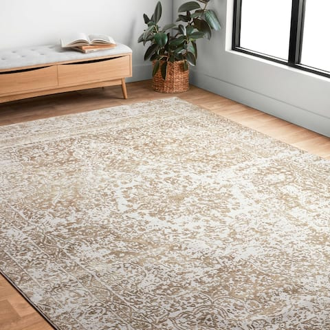 Alexander Home Mason Distressed Traditional Persian Rug