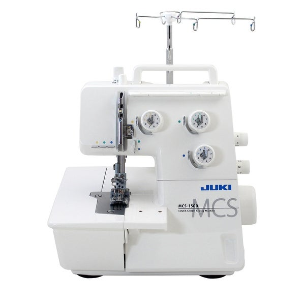 Shop Juki MCS 40 Cover Stitch And Chain Stitch Machine Free Simple Coverstitch Sewing Machine