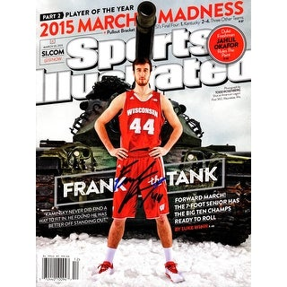 Frank Kaminsky Signed Wisconsin Sports Illustrated 03/23/2015 Original Full Magazine (No Label)