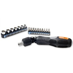 Syba SY-ACC65042 18-Piece 2-in-1 Design Ratchet & Screw Driver Tool Kit