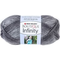 Red Heart Boutique Infinity Yarn-Thunder - gray