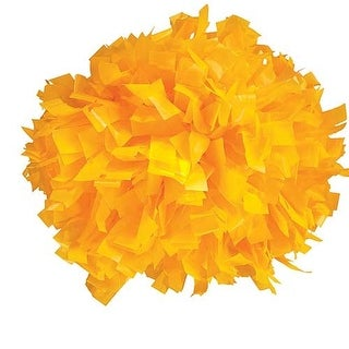 Pizzazz Gold Plastic Cheer Single Pom Pom