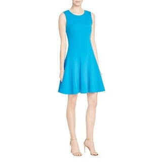 Diane Von Furstenberg Womens Citra Casual Dress Sleeveless Knee-Length