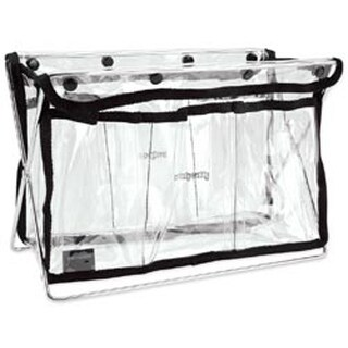 "Clear W/Black Trim - Handy Caddy 8""X11""X5"""