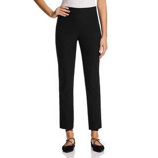Eileen Fisher Womens Ankle Pants Crepe Slim