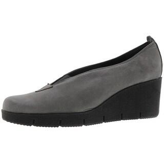 The Flexx Womens Spadework Wedge Heels Leather Casual - 8 medium (b,m)