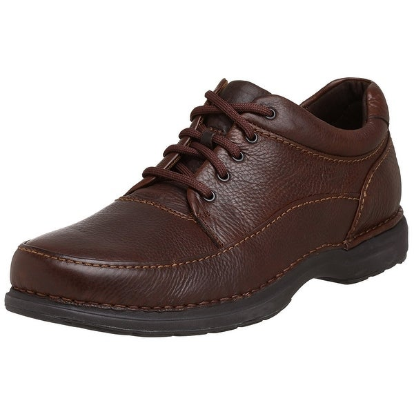 Rockport Mens encounter Leather Lace Up Casual Oxfords - 8