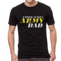 US Army Dad Men's Black T-shirt