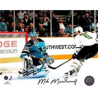 Mike Modano Dallas Stars Goal vs Sharks 8x10 Photo