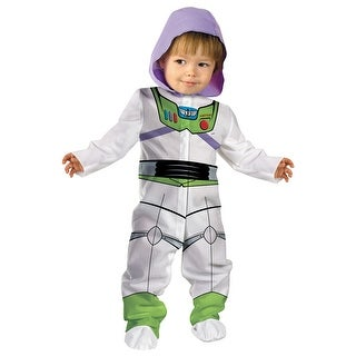 Disguise Toy Story 3 Buzz Lightyear Classic Infant Costume - White