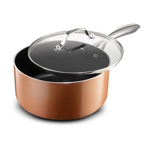 Gotham Steel Copper Cast 2.5 Quart Sauce Pan