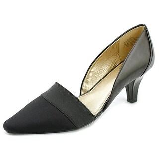 Circa Joan & David Dores Pointed Toe Canvas Heels