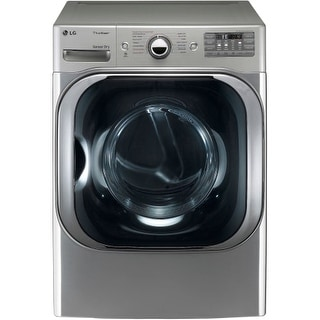 LG DLGX8001 9.0 Cu. Ft. Mega Capacity Gas Dryer with Steam Technology and Sensor Dry