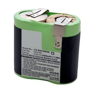 Replacement Battery for Black & Decker BHC400VX (Single Pack) Replacement Battery