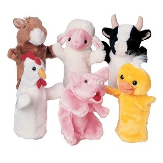 Farm Favorites Puppets Set Of 6