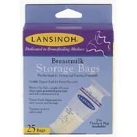 Lansinoh Breastmilk Storage Bags - 25 ct