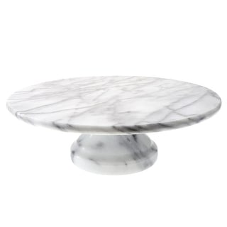 Link to Creative Home Natural Marble Pedestal Cake Stand, Dessert Fruit Serving Plate, Off-White (patterns may very) Similar Items in Kitchen Storage