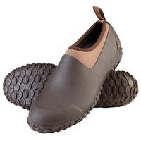 Muck Boot's Men's Muckster II Low Bark/Otter Boots w/ Airmesh Lining - Size 8