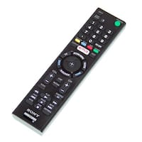 OEM Sony Remote Control Originally Shipped With XBR55X810C & XBR-55X810C