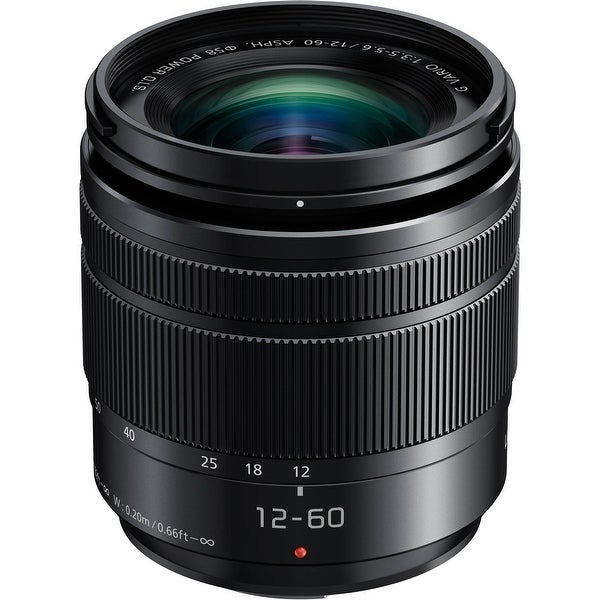 Panasonic Lumix G Vario 12-60mm f/3.5-5.6 ASPH. POWER O.I.S. Lens (Certified Refurbished)