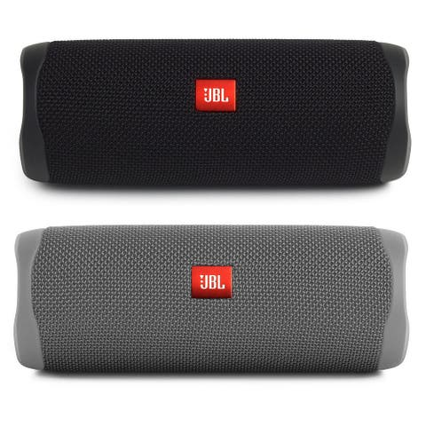 JBL Flip 5 Portable Waterproof Bluetooth Speakers - Pair