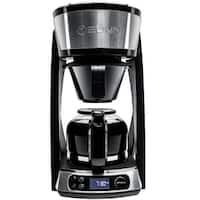 BUNN 46500.0003 Heat N' Brew Programmable Coffee Maker, Black/Silver