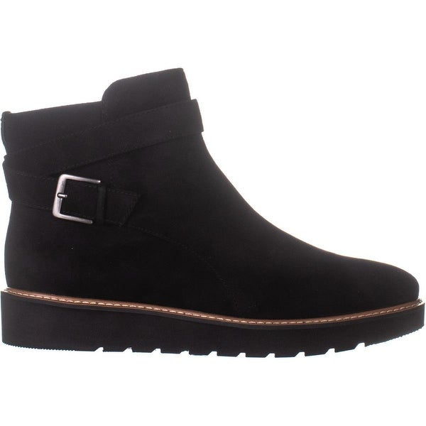 naturalizer Aster Flat High Ankle Boots