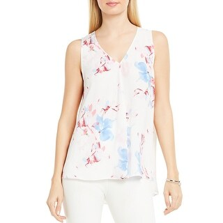 Vince Camuto Womens Casual Top Floral Print Swing (4 options available)