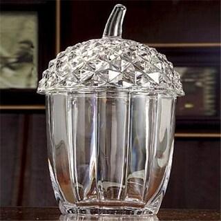 Godinger 42951 Crystal Acorn Box