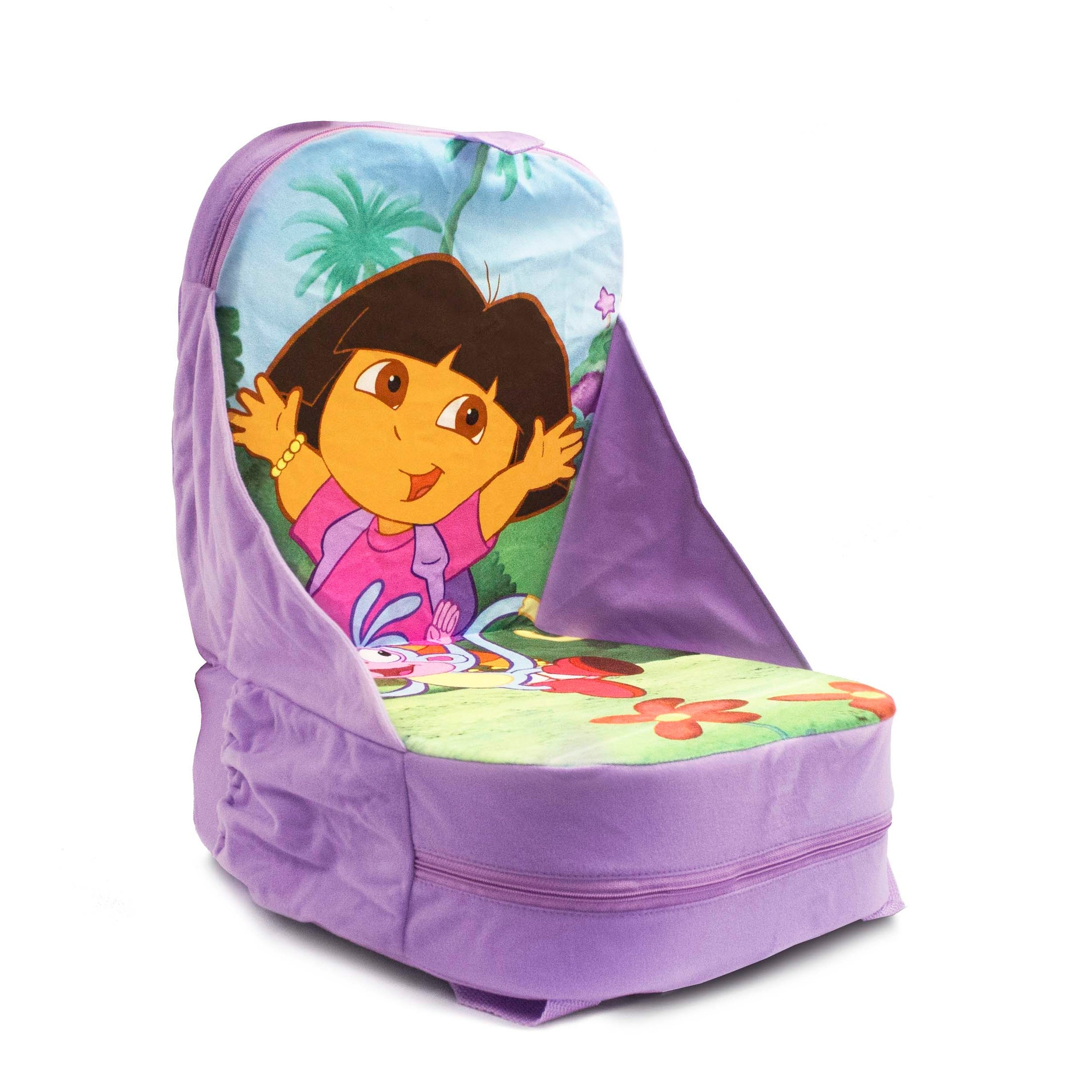 Remarkable Dora The Explorer Backpack Chair With Storage 11 0 In X 12 0 In X 6 0 In Gamerscity Chair Design For Home Gamerscityorg