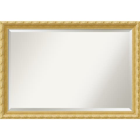 Wall Mirror Extra Large, Versailles Gold 40 x 28-inch - extra large - 40 x 28-inch