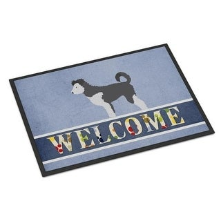 Carolines Treasures BB8297MAT Pumi Welcome Indoor or Outdoor Mat - 18 x 27 in.