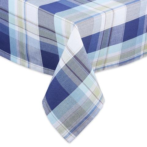 "DII Lakeside Plaid Tablecloth - 52 X 52"""