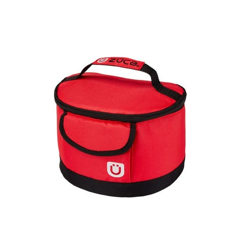 "Zuca Lunchbox (Red) - 6"" x 9"" x 6"""