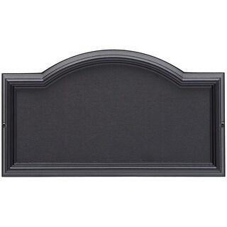 Whitehall Design-It 4 Arch Plaque (Black)