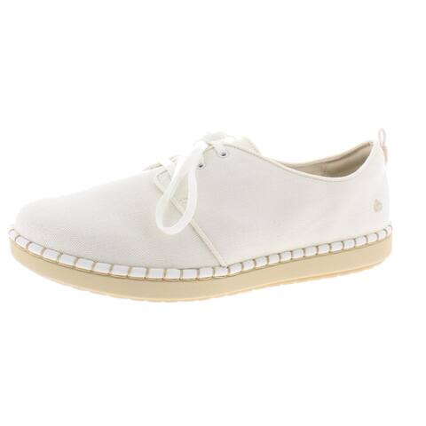 Cloudsteppers by Clarks Womens Step Glow Lace Sneakers Oxford Comfort - White