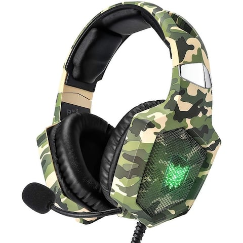 Gaming Headset for PS4, Xbox One, PC Headset Sound Noise Canceling
