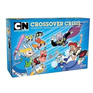 Cryptozoic Entertainment CN Crossover Crisis Animation Annihilation Dbg Board-Games