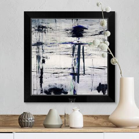 """Factory Warranty"" Black Framed Print"